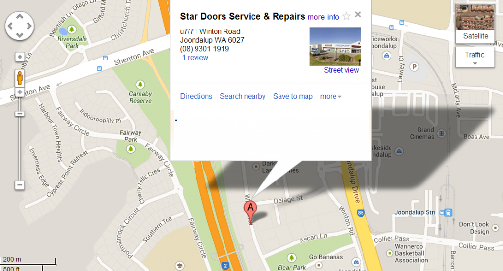 garage door repairs by Star Door in Perth