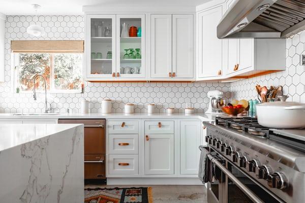 illustration of budget kitchen renovation